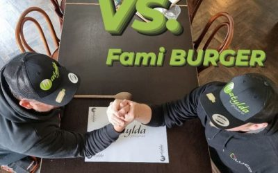 Miki burger vs. Fami burger 20.-21. 10.